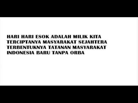 MARS MAHASISWA BURUH TANI LIRIK   YouTube