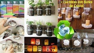 Reciclaje Botes Botellas Cristal +150 Ideas / Ideas Recycling Glass Bottles boats