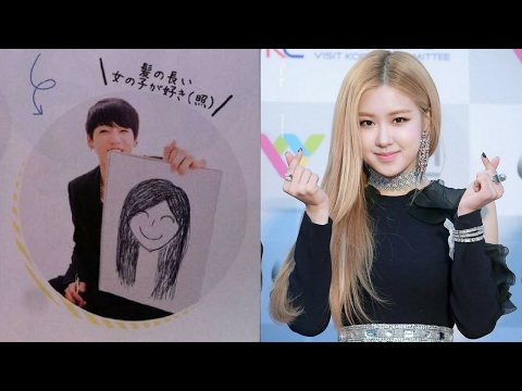 BTS JUNGKOOK'S IDEAL TYPE IS BLACKPINK'S ROSÉ?