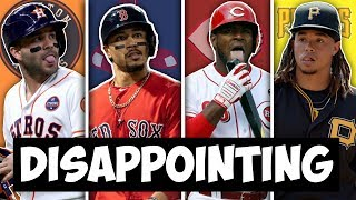 MOST DISAPPOINTING MLB PLAYER FROM EVERY TEAM