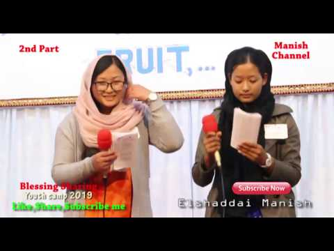 blessing sharing 2nd part#elshaddai youth camp 2019#