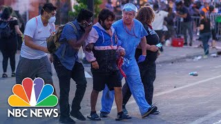 Protests Continue In Minneapolis After Death Of George Floyd | NBC News NOW