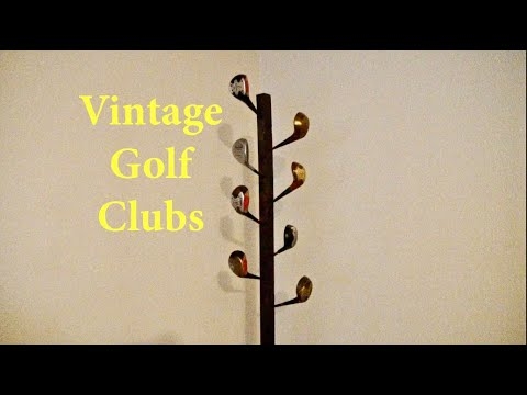 Building a Coat Rack with Golf Clubs