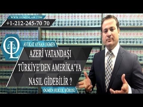 Azeri Vatandaşı Türkiye'den Amerika'ya Nasıl Gidebilir ?