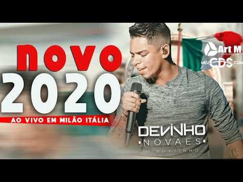 DEVINHO NOVAES 2020 - CD NOVO 2020 - AO VIVO EM MILÃO - ITÁLIA