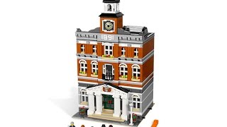 Lego 10224 Town Hall Review (레…