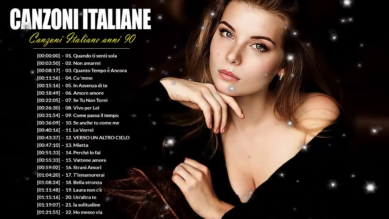 Le Piu Belle Canzoni Italiane Anni 90 Musica Italiana Anni 90 Cantante Italiana Anni 90 Youtube