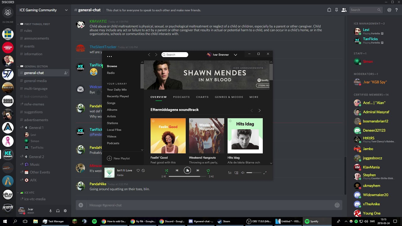 How to connect Spotify to Discord on Pc