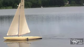 rb s rc s cup yacht 1 metre fast remote control sailboat
