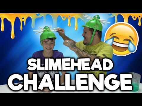 Slimehuvud Challenge - Svenska Youtubers Edition