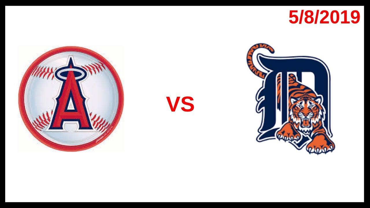Los Angeles Angels Game Recap (5/8/2019) Detroit Tigers Condensed Game