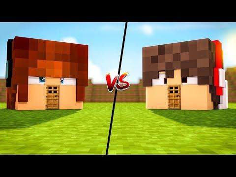 CASA AUTHENTIC vs CASA CRONOS !!! - MINECRAFT