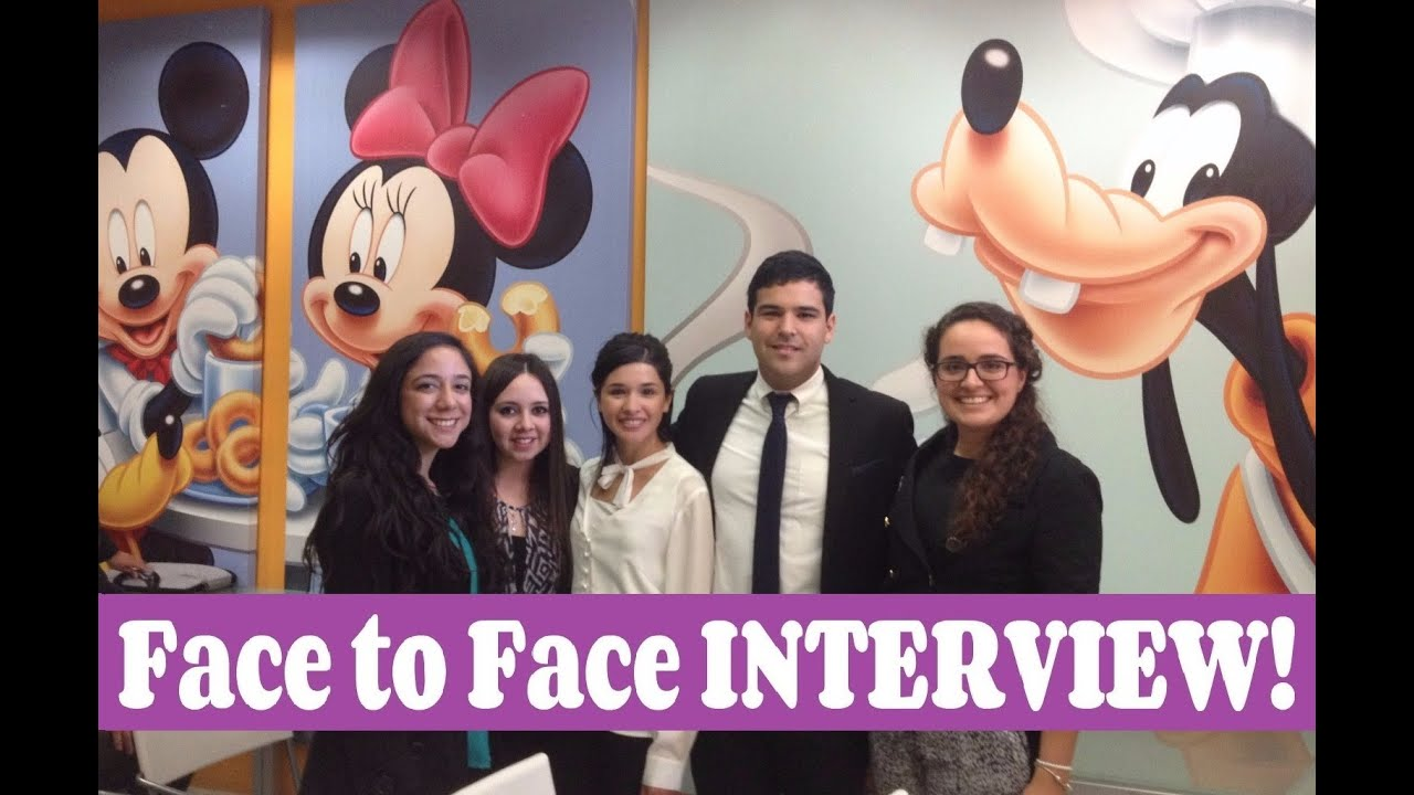 disney face to face interview tips cep disney face to face interview tips cep