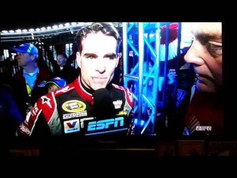 UNCENSORED Jeff Gordon Interview After Texas Race