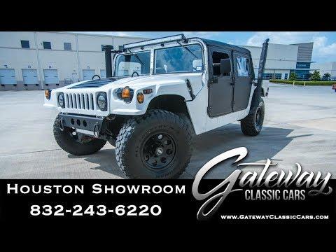 2001 AMG Military Pickup Gateway Classic Cars #1512 Houston Showroom