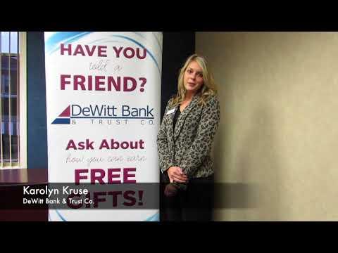 DeWitt Bank & Trust Co. on Small Business Saturday