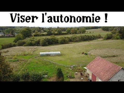 Objectif Autonomie (visite de la ferme)
