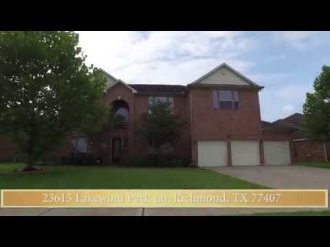 23615 Lakewind Park Ln, Richmond, TX 77407, USA