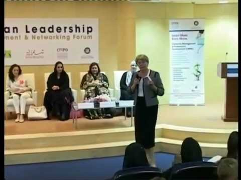Download Elaine Jones speaks at the University of Dubai's Women Leadership Forum