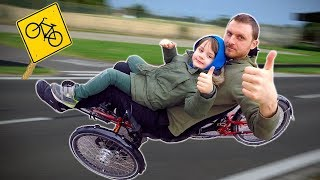 Ride on Bike | Sports Day with Daddy for Kids | TimKo Kid Bike Riding | Learn Sports Cycling