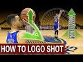 How To: Stephen Curry Half-Court Logo Shooting Form Secret