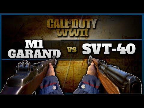 M1 Garand vs SVT | Which is the Best Semi Auto Rifle in CoD WW2?