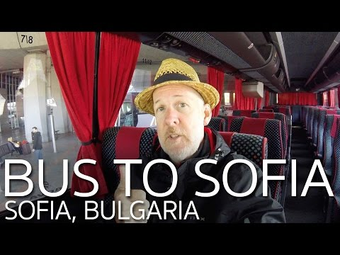 Bus Skopje Macedonia to Sofia Bulgaria