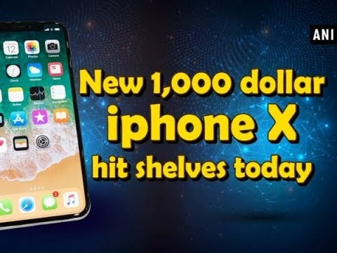 New 1000 Dollar Iphone X Hit Shelves Today