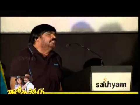 T Rajendar Funny Speech In English Sema Comedy