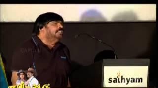 T Rajendar funny speech in English sema comedy
