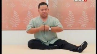 Body&Mind ขยับกายสบายชีวา:ฤาษีดัดตน ท่านั่งเหยียดขา ช่วงที่1 29/08/2015