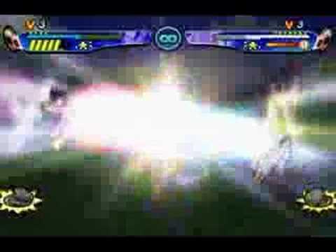 Dragon Ball Z Budokai 3 Vegito Vs. Gogeta