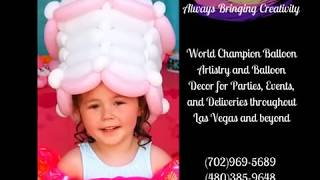 World Champion Balloon Artistry and Balloon Decor for Parties, Events, and Deliveries