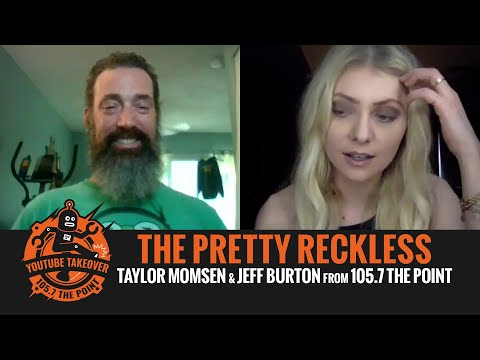 Taylor Momsen of THE PRETTY RECKLESS talks
