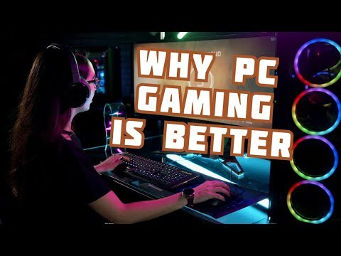 The many advantages of PC gaming