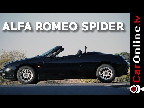 Alfa Romeo Spider GTV 1.8 [Review Portugal]