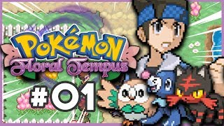 Pokemon Floral Tempus Part 1 AMAZING GAME! Pokemon Fan Game Gameplay Walkthrough