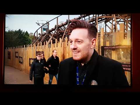 Alton Towers SW8 on ITV Central News (01/11/17)