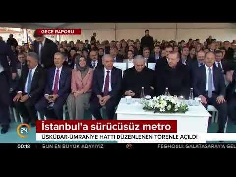 Türkiye'nin ilk sürücüsüz metro hattı İstanbul'da açıldı
