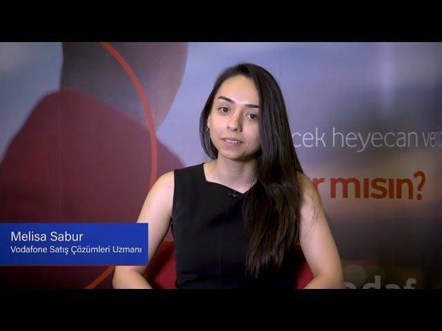 TÜSİAD Ne Okusam Ne Olsam? - Melisa Sabur / Vodafone