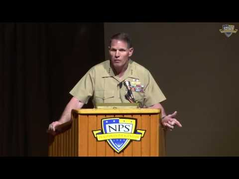 Secretary of the Navy Guest Lecture with Lt. Gen. Robert S. Walsh, USMC