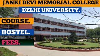 Janki Devi Memorial College review fees, Hostel, Course etc||Janki devi college review||Jdmc review|