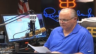"Why Rush Limbaugh Is ""Very Uncomfortable"" With Trump"