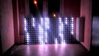 Светодиодные панели для клубной индустрии(Изготовление и монтаж светодиодных панелей (управление MADRIX). ООО