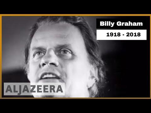 World-renowned US evangelist Billy Graham