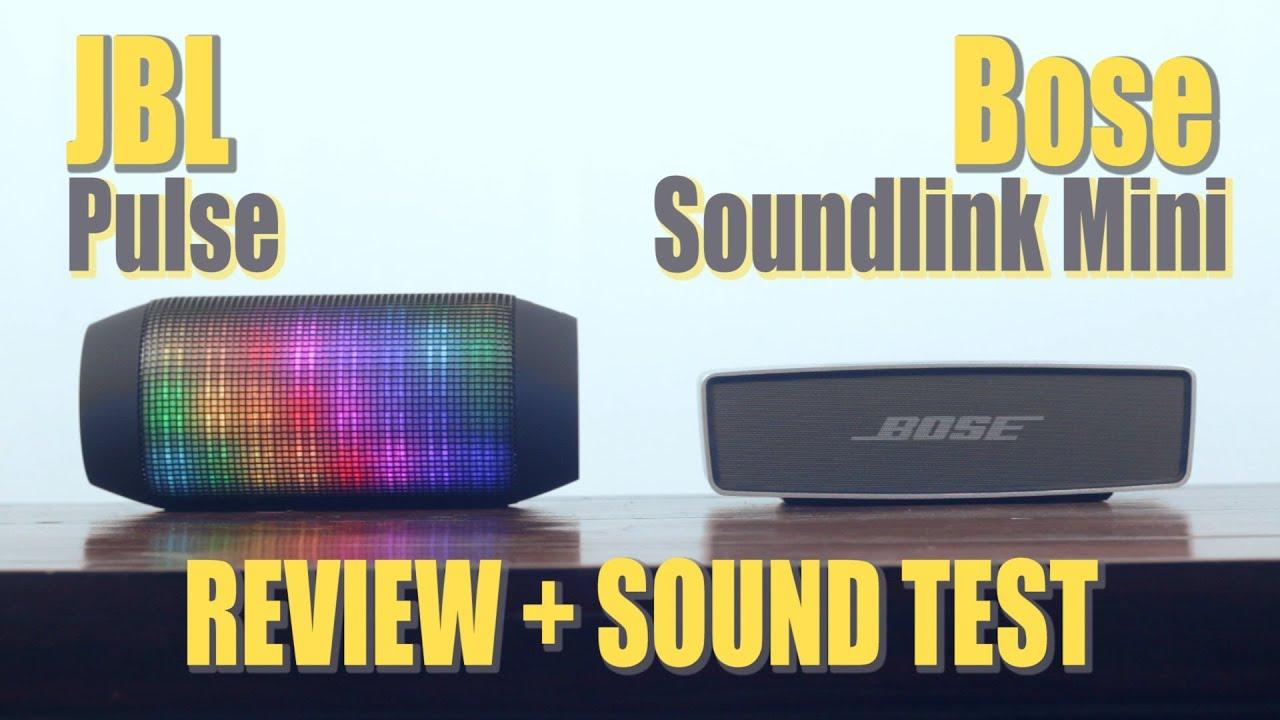 jbl speakers bluetooth color. best portable bluetooth speaker : jbl pulse vs bose soundlink mini (review + sound test) - youtube jbl speakers color