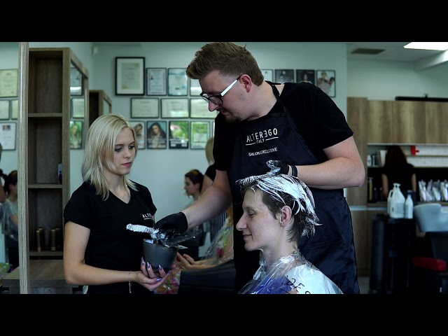 Projekt INSPIROWANE NATURĄ Studio Fryzjerskie REVOLUCJA & Perfect Lady