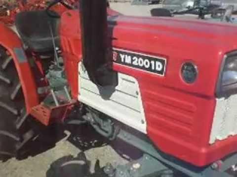 YANMAR YM-2001D (Μεταχειρισμένα Τρακτέρ Καραμανίδης Ηλίας)