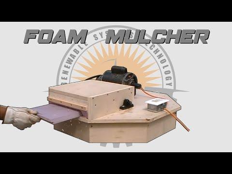 🛠 Build A DIY Styrofoam Mulcher 🛠 Plans Available 📄