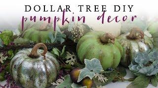 Dollar Tree DIY Pumpkin Decor